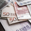 European Union Currency — Stock Photo