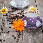Coffee And Chocolate — Stock Photo