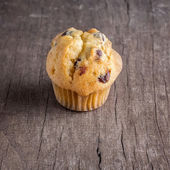 Chocolate chip muffin — Stock Photo