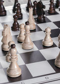 Game of Chess — Stockfoto