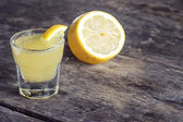 Limoncello Lemon Liqueur — Stock Photo