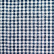 Checked tablecloth — Stock Photo