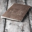 Old notebook — Foto Stock