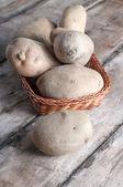 Organic potatoes — Stock Photo
