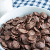 Chocolate cereal — Stock Photo