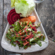 Delicious salad with arugula — Stockfoto #39769087