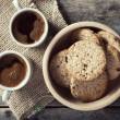 Coffee and cookies — Stock Photo #40075373