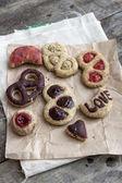 Zelfgemaakte koekjes — Stockfoto