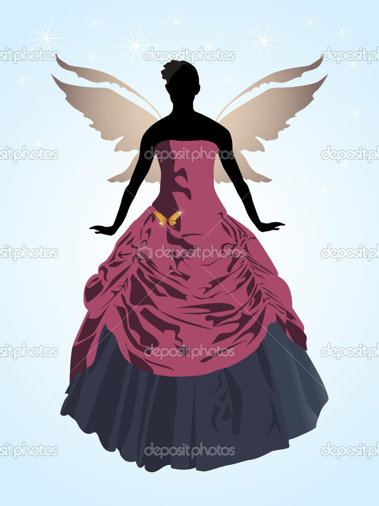 Dance girl ballet silhouettes - vector   Stock Vector #12192595