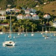 Yacht club in Saint Thomas — Stock Photo #17652333