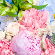 Bright luxury wedding bouquet — Stock Photo