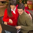 Christmas Online Shopping.  — Stock Photo