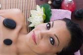 Woman in massages salon — Stock Photo
