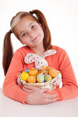 Portrait of little girl with Easter egg  — Stock Photo