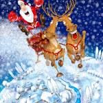 Illustration on the theme of Christmas — Stock Photo