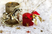 The Christmas background — Stock Photo