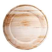 Wooden plate — Stock Photo