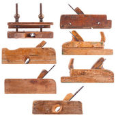 Antika ahşap araçlar koleksiyonu — Stok fotoğraf
