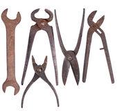 旧生锈的工具 — 图库照片