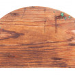 Stock Photo: Wooden semicircle