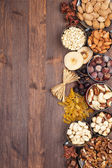 Fruits and Nuts — Stock Photo