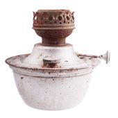 Velha lâmpada de querosene — Foto Stock