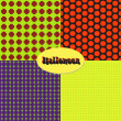 Set Halloween pattern — Stock Vector