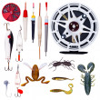 Stock Photo: Fishing tackle