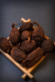 Chinese black cardamom — Stock Photo
