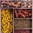 Authentic collection Chinese spices — Stock Photo
