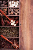 Authentic collection Chinese spices — Stok fotoğraf