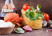 Homemade Italian pasta — Stockfoto