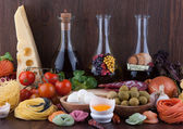 Traditional Italian food — Stock Photo