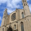 Santa Maria del Mar church — Stock Photo #13177559