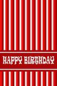 Verjaardagskaart — Stockfoto
