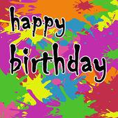 Geburtstagskarte — Stockfoto
