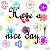 Have a nice day! — Foto Stock