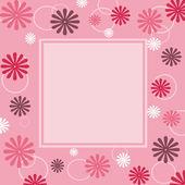 Floral frame — Foto Stock