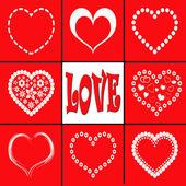 """Illustartion of """"Love"""" — Stock Photo"""