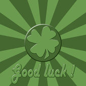 Good luck! — Stock Photo