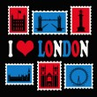 Stock Photo: I love London