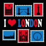 I love London — Stock Photo