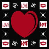 Heart illustration — Stock Photo