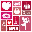 Love illustration - Stock Photo