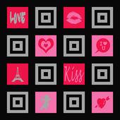 愛の壁紙 — Stockfoto