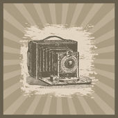 Macchina fotografica d'epoca — Foto Stock