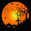 Halloween night — Stock Photo #32600739