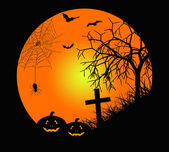 La noche de halloween — Foto de Stock