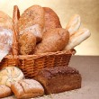 Various breads — Stock Photo #12480488