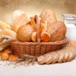 Stock Photo: Different bread products